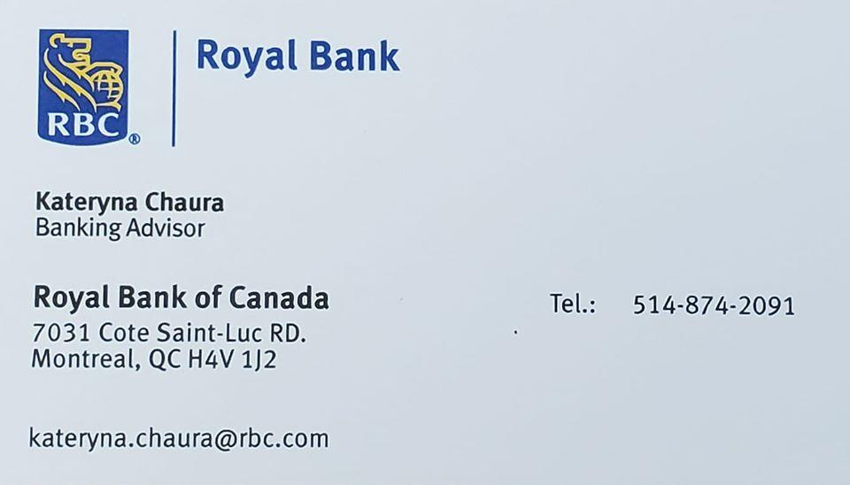 Kateryna_Chaura RBC_Montreal