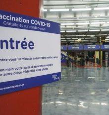 В очередь за вакциной.